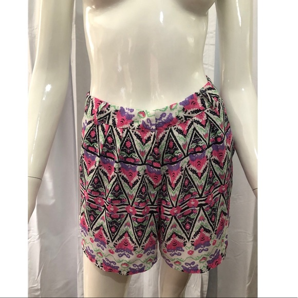 Lucca Couture Patterned Pink Shorts